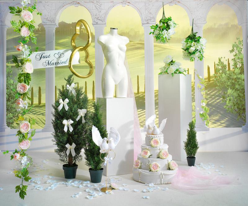 Romantische deko f r die hochzeit und events for Romantische deko