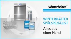 Winterhalter Spülspezialist - alles aus einer Hand!